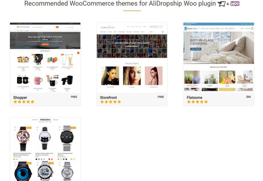Alidropship woocommerce theme