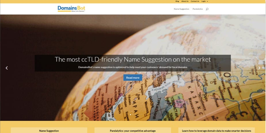 NAMEMEBOTbest domain name generator