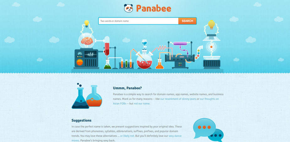 PANABEE best domain name generator tool