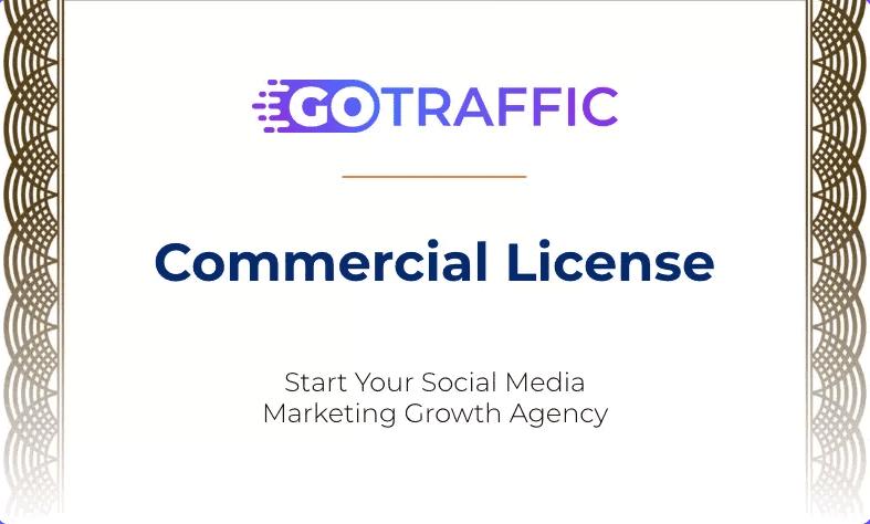 Gotraffic commercial license